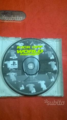 Kick Off World Manager per Sony PS1