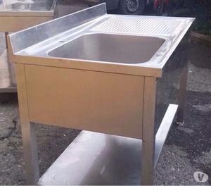 Lavelli in acciaio inox professionali mantova posot class for Lavello acciaio