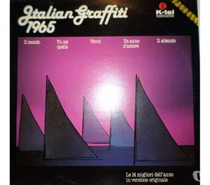 """LOTTO di 10 LP 33 giri di """" ITALIAN GRAFFITI """""""