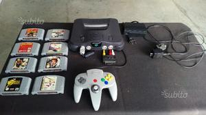 Nintendo 64 perfetta e 8 giochi