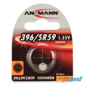 Nuovo 875679 2 Pz. Ansmann 875679lr59 Silveroxid 1x Pila A