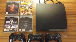PS3 SLIM 160 GB + giochi + controller