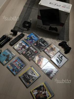 PS3 slim + accessori + giochi