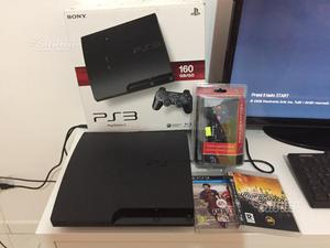 Playstation 3 ps3 slim 160 gb