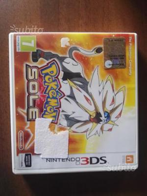 Pokemon sole 3ds