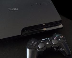 Ps3 Slim 500gb + Dualshock3+ 10 Giochi