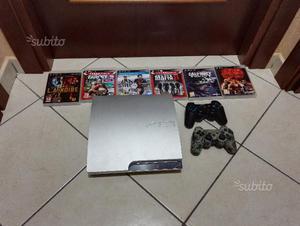 Ps3 slim 320gb + 6 giochi