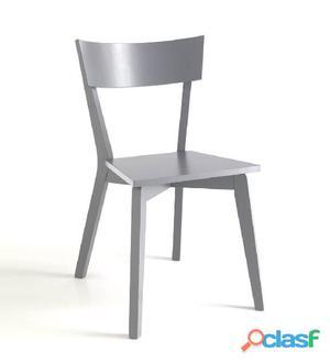 Sedia In Legno Massello Tomasucci Kyra Grey