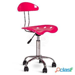 Sedia da ufficio rosa posot class for Sedia rosa
