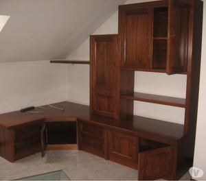 Stupendo soggiorno rustico in legno massello posot class - Soggiorno legno massello ...