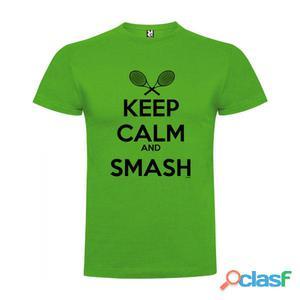 T-shirts casual Kruskis Keep Calm And Smash