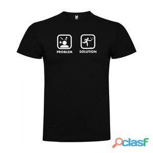 T-shirts casual Kruskis Problem Solution Smash