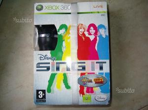 XBOX360 Sing It NUOVO