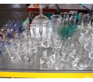 bicchieri usati da bar e ristoranti