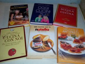 6 libri di ricette