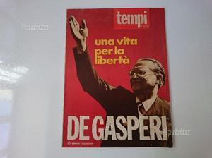 De Gasperi, una vita per la libertà