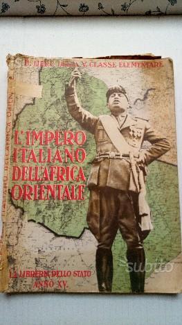 Fascismo l'Impero Italiano Africa Orientale
