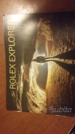 Libretto istruzioni Rolex Explorer 1 e 2