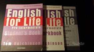 Libro English for Life - Pre-Intermediate