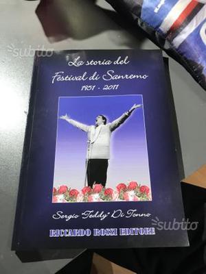 """Libro """"La storia del Festival di Sanremo"""""""