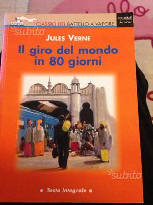 """Libro""""IL GIRO DEL MONDO IN 80 GIORNI"""""""