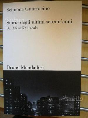 """Scipione Guarracino""""Storia degli ultimi sett'anni"""""""