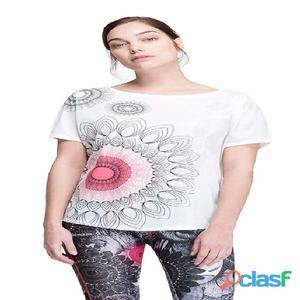 T-shirts tecniche manica corta Desigual T Shirt Oversize B