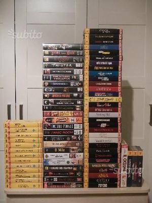 72 Videocassette VHS Film Vari