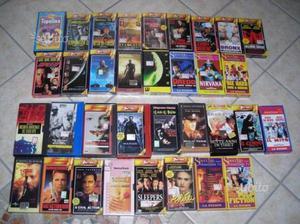 76 film in vhs originali ad 1 euro l'uno