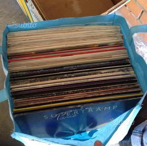 Borsa di dischi vinile 33 giri lp anni