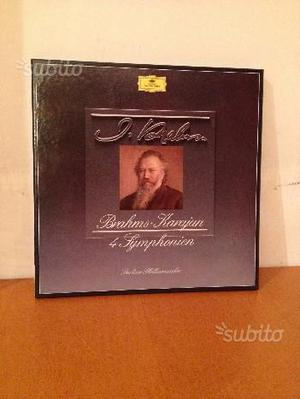 Brahms - 4 Sinfonie - Karajan - Box Set 4 LP