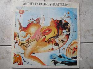 DIRE STRAITS disco vinile doppio LIVE 33 giri