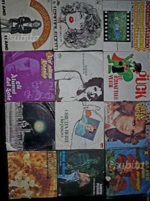 Dischi vinili 33 e 45 giri rock folk classica pop