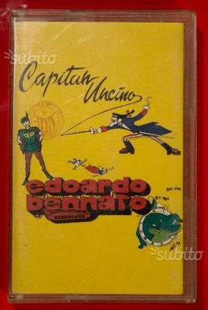 Edoardo Bennato - Capitan Uncino - Musicassetta