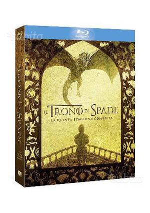 Il Trono di Spade 5' stagione Blu-Ray Sigillato
