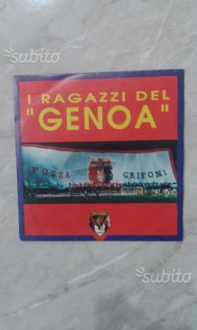 LP 45 giri I Ragazzi del Genoa