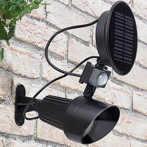 Lampada Da Giardino Faretto Ad Energia Solare Con Sensore