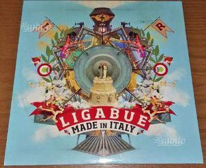 Ligabue - Made in Italy (45 giri vinile ROSSO) LP