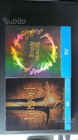Lotto film blu ray signore degli anelli hobbit
