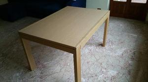 Tavolo calligaris in legno rovere chiaro posot class - Tavolo a ribalta calligaris ...