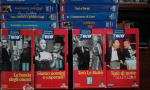 Totò raccolta di VHS fabbri video