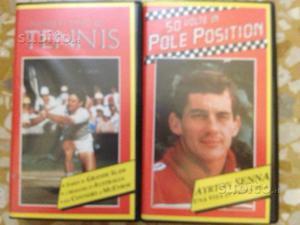 VHS Senna e N.1 del tennis
