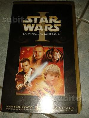 VHS Star Wars I La minaccia fantasma