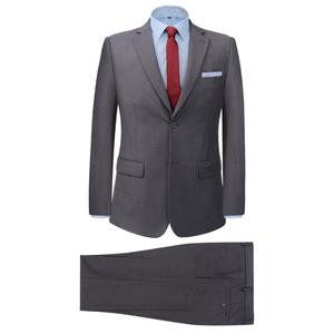vidaXL Vestito elegante da uomo 2 pezzi taglia 52