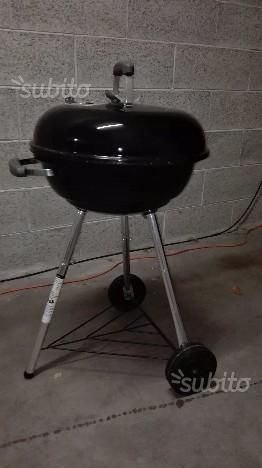 Barbecue Weber Compact Kettle Ø 47cm Nero