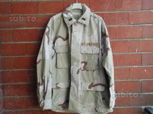 Giacca desert 3 colori Lt USAF Gulf War tg. Large