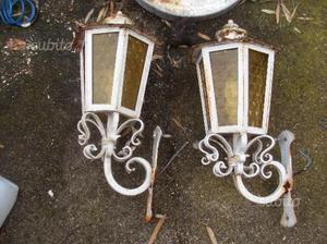 Lampioni in ferro