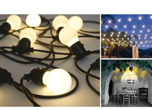 SELETTI Bella Vista Set 10 luci a LED da giardino