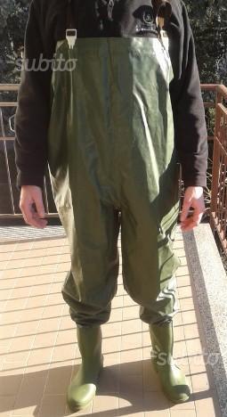 stivali lunghi da pesca