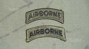 Tab Airborne U.S. Army